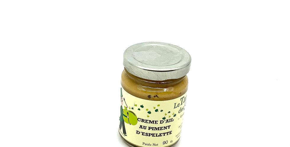 Crème D'Ail Au Piment D'Espelette 90Gr, Le Tango Des Saveurs