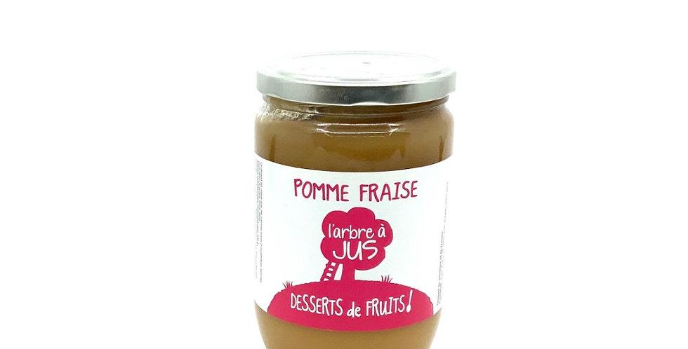 Compote Pomme Fraise 620Gr, Bissardon