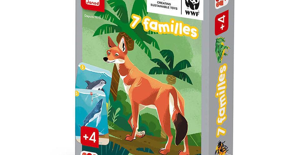 Jeu 7 Familles Règne Animal, Janod