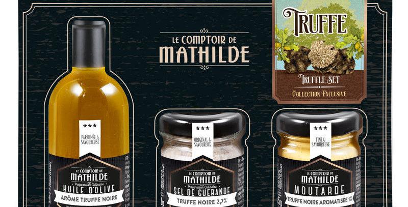 Coffret Découverte Truffe Noire, Comptoir De Mathilde