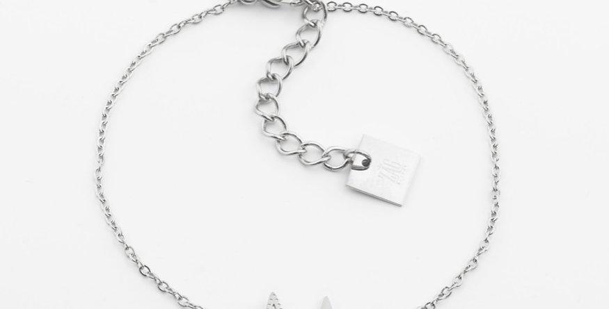 Bracelet Double Star Acier, Zag