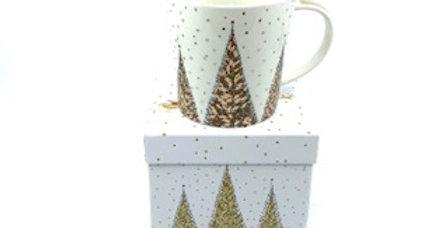 Mug joyeux Noël, Porcelaine, PPD