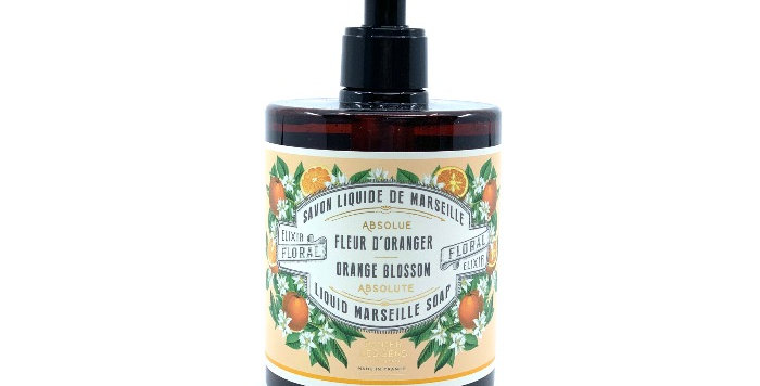Savon Liquide 500ml, Fleur d'Oranger, Panier des Sens