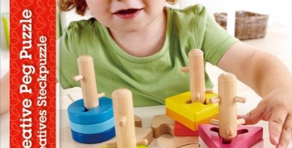 Puzzle Boutons Créatifs, Hape