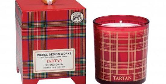 Bougie Parfumée Tartan, Royal Garden