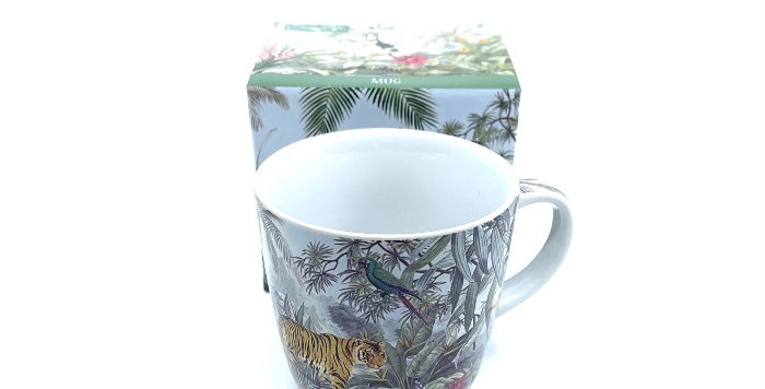 Coffret Mug Tropical, Easy Life