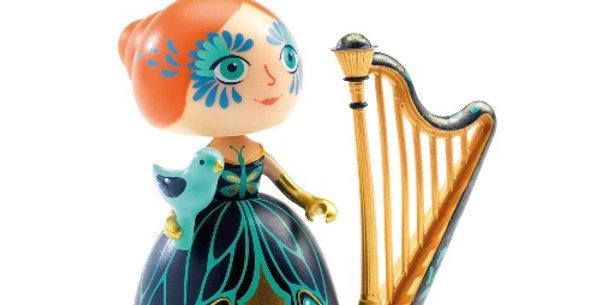 Arty Toys Elisa & Ze Harpe, Djeco