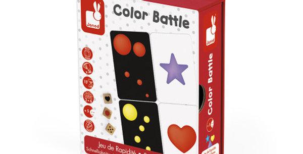 Color Battle, Jeu de Rapidité, Janod