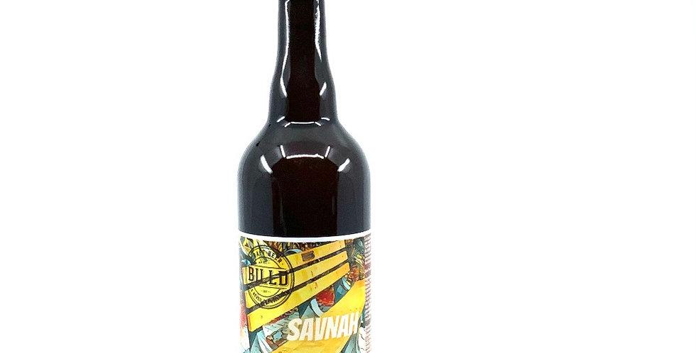 Bière Pale Ale Savnah 75Cl, Billd Le Réveil Des Volcans
