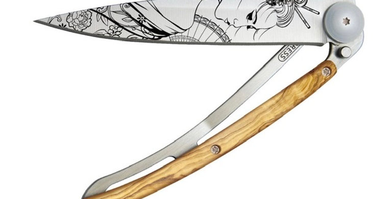 Couteau 37g, Deejo, Geisha