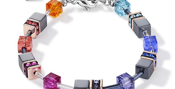 Bracelet Multicolore, Cœur de Lion
