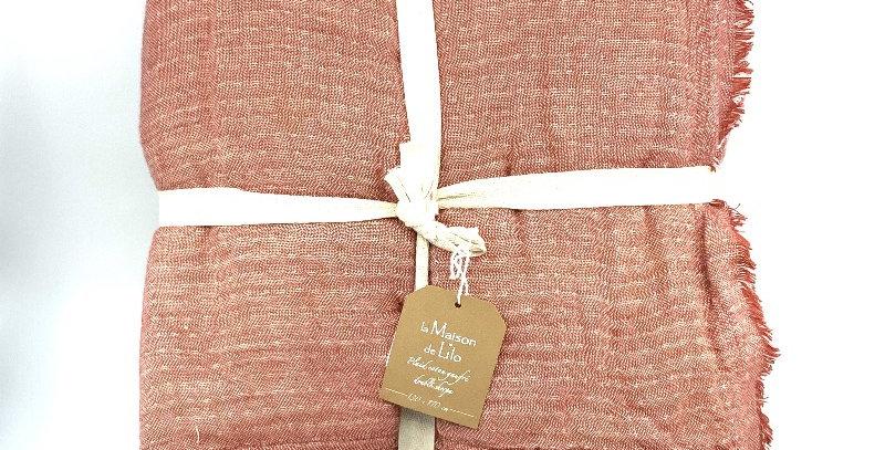 Plaid Coton Gaufre, La Maison De Lilo