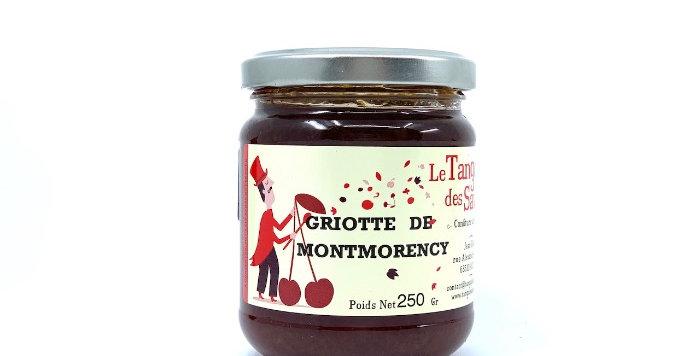 Confiture Griotte de Montmorency, 250g, Le Tango des Saveurs