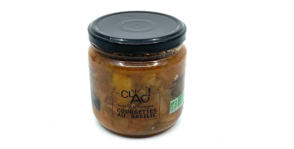 Courgettes Basilic Bio 400Gr, Clac