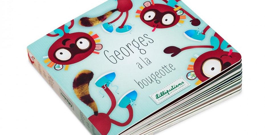 Livre Georges a la Bougeotte, Lilliputiens