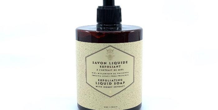 Savon Liquide Exfoliant 500ml, Extraits de Miel et Propolis, Panier des Sens