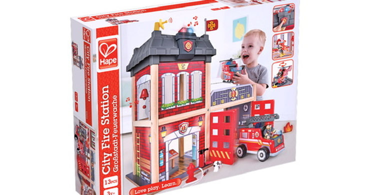 Caserne de Pompiers, Hape, Bois