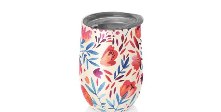 Mug Bureau 420ML Fleurs Aquarelles, Royal Garden