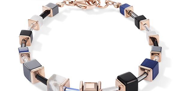 Bracelet Bleu, Cœur de Lion