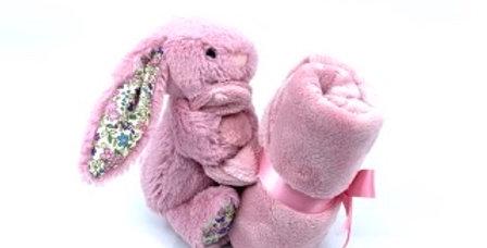 Lapin Rose, Le Doudou, Jellycat