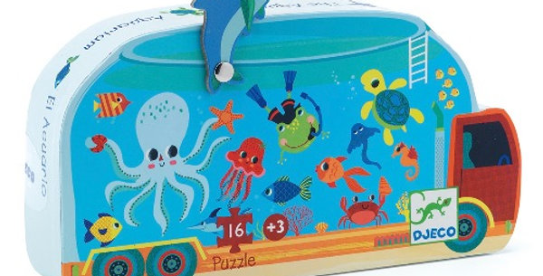 Puzzle 16Pcs L'aquarium, Djeco