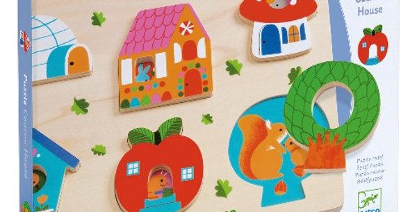 Puzzle Coucou House, Djeco