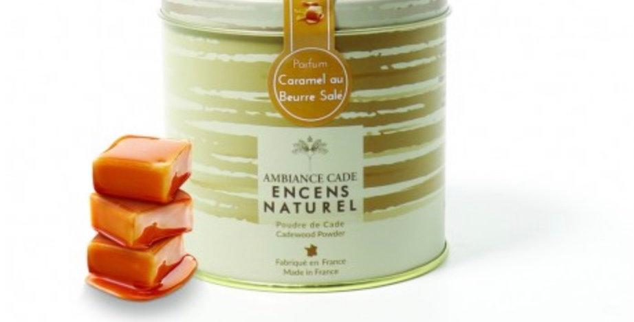 Boîte Encens En Poudre  90Gr Cade Caramel Beurre Salé, Ambiance Cade