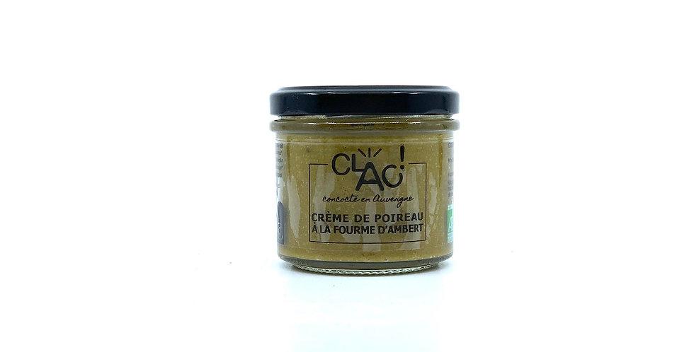 Crème de Poireau à la Fourme d'Ambert, 100g, Clac