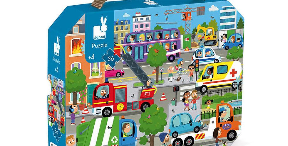 Puzzle City36 Pcs, Janod