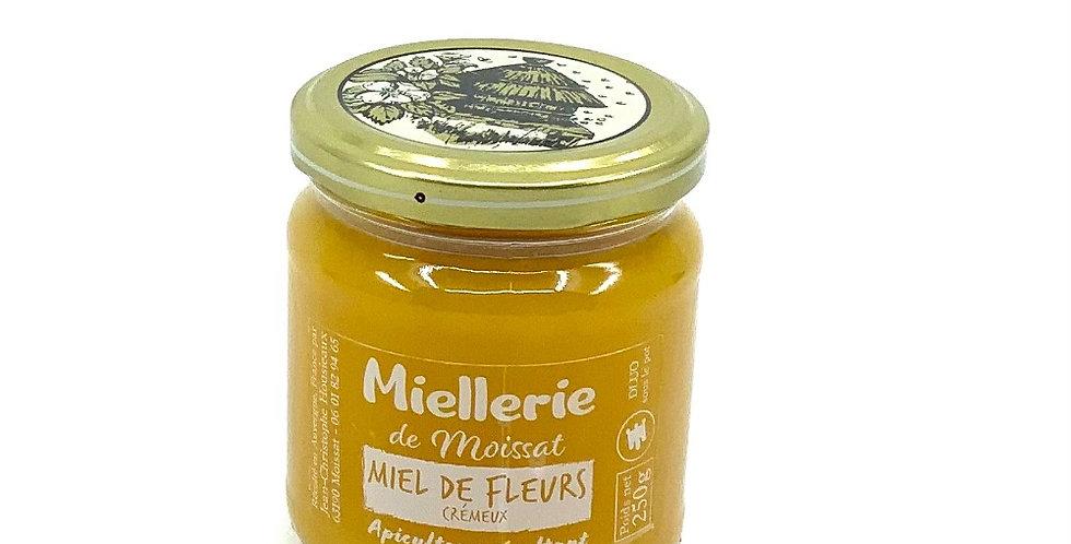 Miel De Fleurs Crémeux 250Gr, Miellerie De Moissat