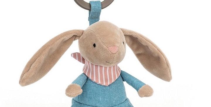 Little Rambler Bunny Rattle, Jellycat