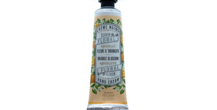 Crème pour Mains 30ml, Fleur d'Oranger, Panier des Sens