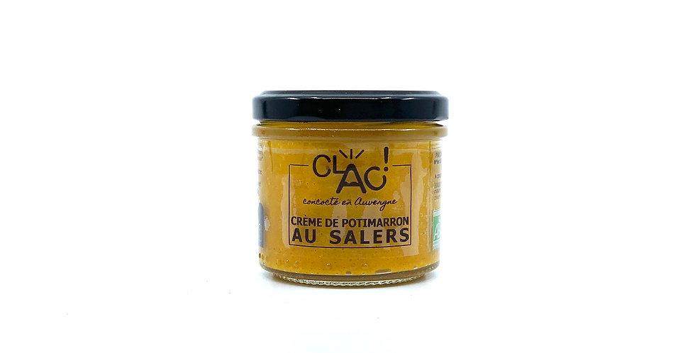 Crème de Potimarron au Salers, 100g, Clac