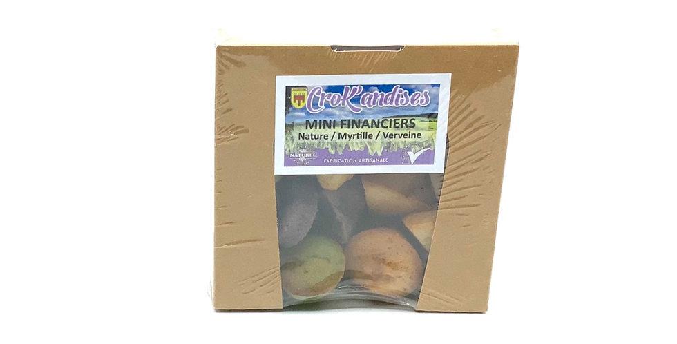 Mini Financiers Nature Myrtille Verveine 150Gr, Crok'andises
