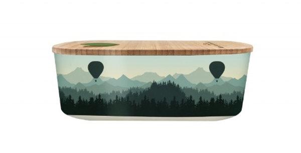 Lunch Box 500ML Air Ballon Valley, Royal Garden