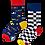 Thumbnail: Chaussettes Dépareillées Formula Racing, Many Mornings