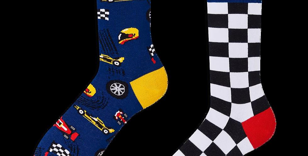 Chaussettes Dépareillées Formula Racing, Many Mornings