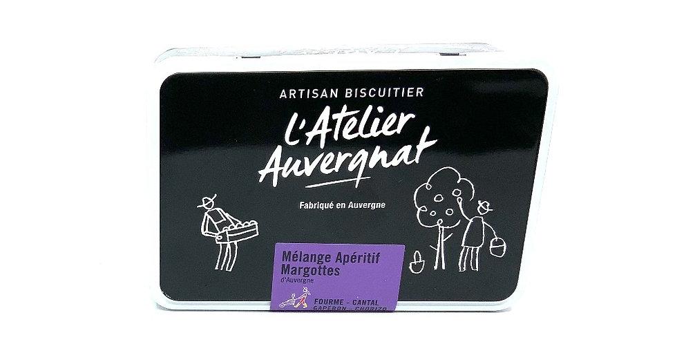Boîte Mélange Apéritif Margottes 220Gr, L'Atelier Auvergnat