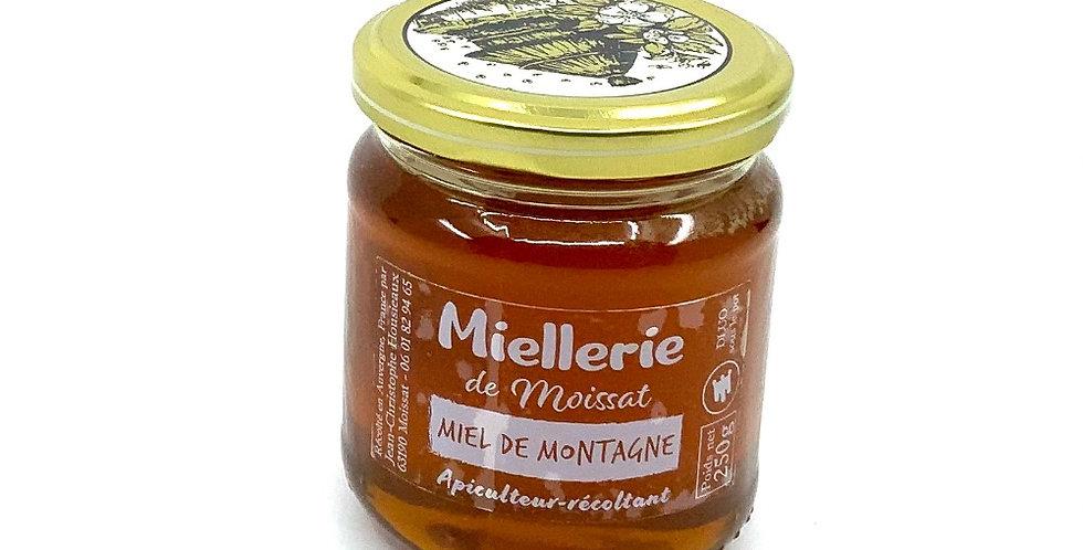Miel De Montagne 250Gr, Miellerie De Moissat