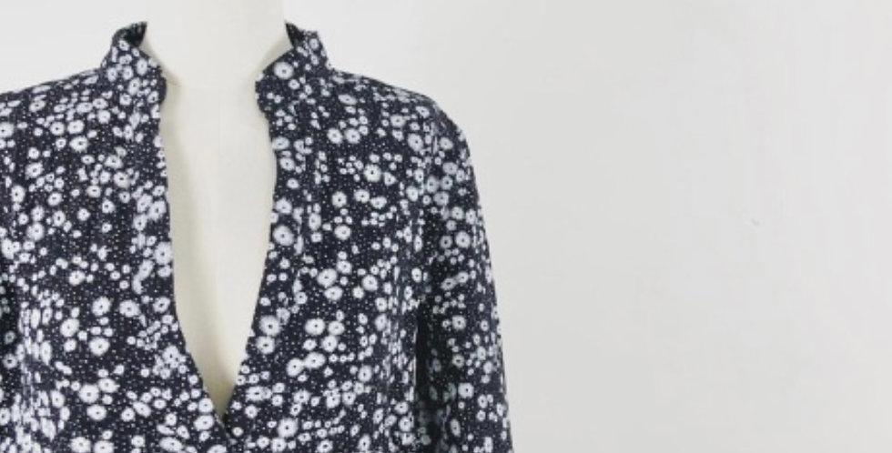 Robe Gaze De Coton Fleuri