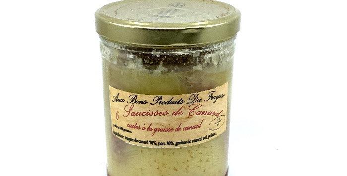 Saucisses De Canard X6, Aux Bons Produits Du Fraysse