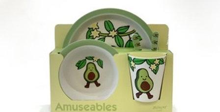 Set Vaisselle en Bamboo, Jellycat