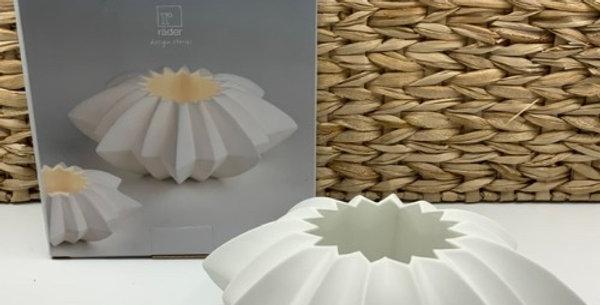 Photophore Étoile, Porcelaine, Räder