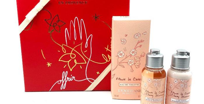 Coffret Parfum Fleurs De Cerisier, L'Occitane En Provence