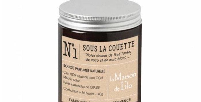 Bougie Parfumée Sous La Couette, La Maison De Lilo.