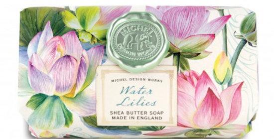 Savon Water Lilies 246gr, Royal Garden