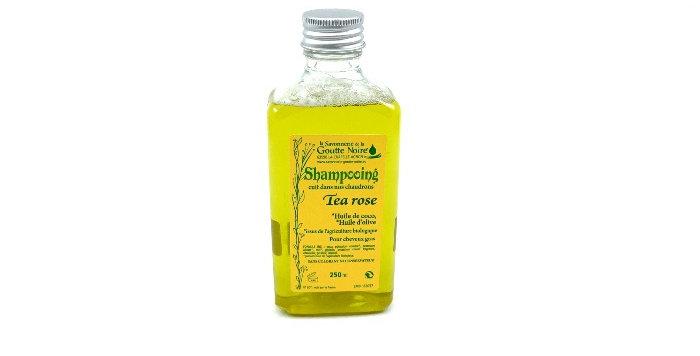 Shampooing Tea Rose 250Ml, Savonnerie De La Goutte Noire