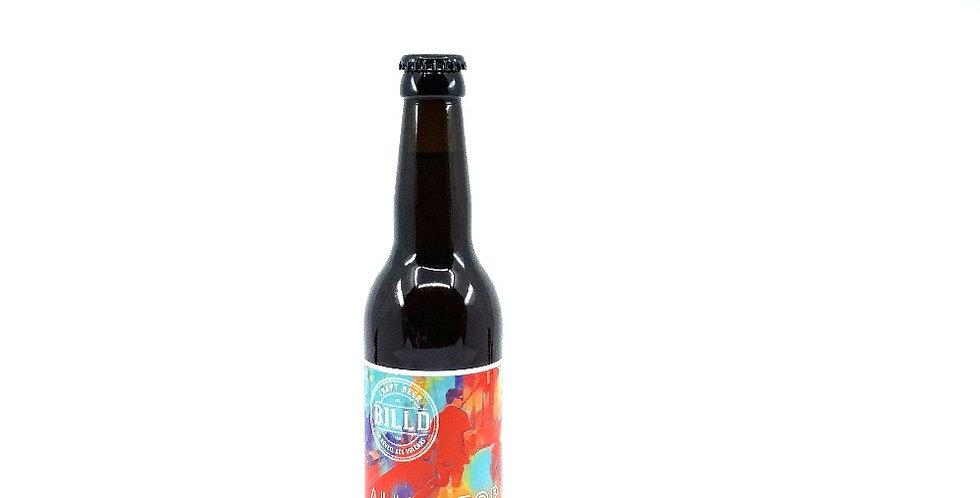 Bière Amber Ale Alligator 33Cl, Billd Le Réveil Des Volcans