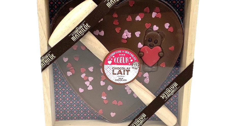 Coeur à Casser Chocolat Lait, Le Comptoir De Mathilde