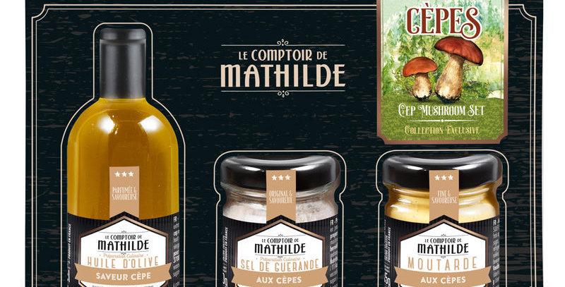 Coffret Découverte Cèpes, Comptoir De Mathilde